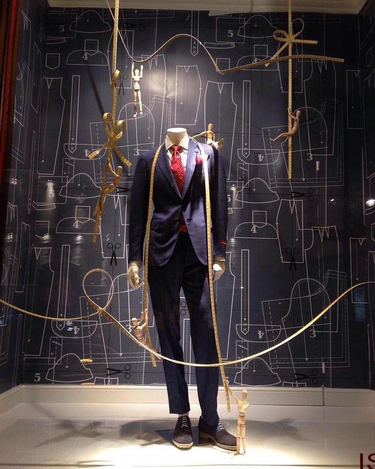 "MADE TO MEASURE, ""Everyone should own at least one bespoke suit"", pinned by Ton van der Veer"