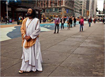 His Holiness Sri Sri Ravi Shankar in New York