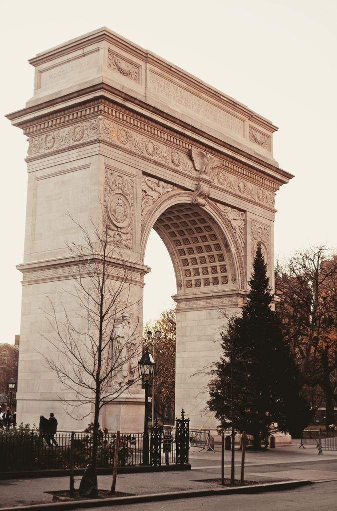 "Washington Square Park, New York City - ""Found in the center of Greenwich Village its location made it a center for the folk music scene of the 1960s."""
