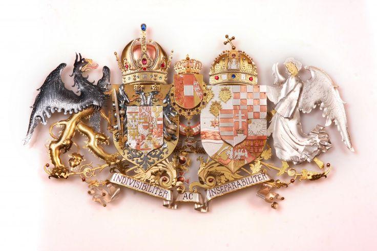 Austro-Hungarian Empire coat of arms v.1   Global heraldic