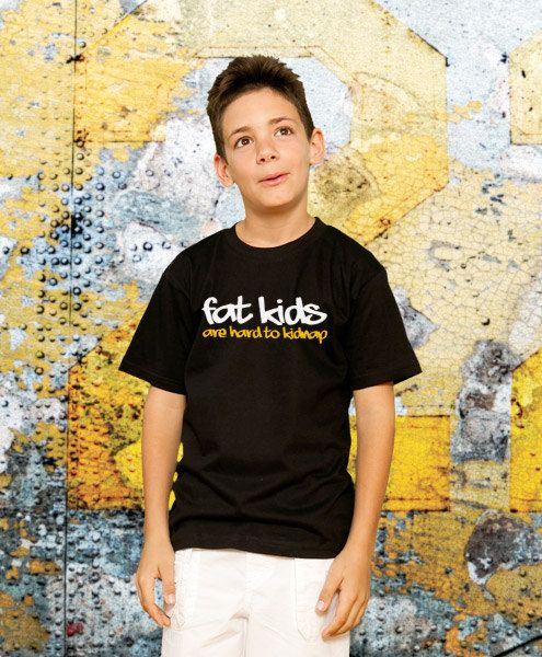 Fat Kids Funny TShirt Kids Gift Young Boy Tshirt by store365