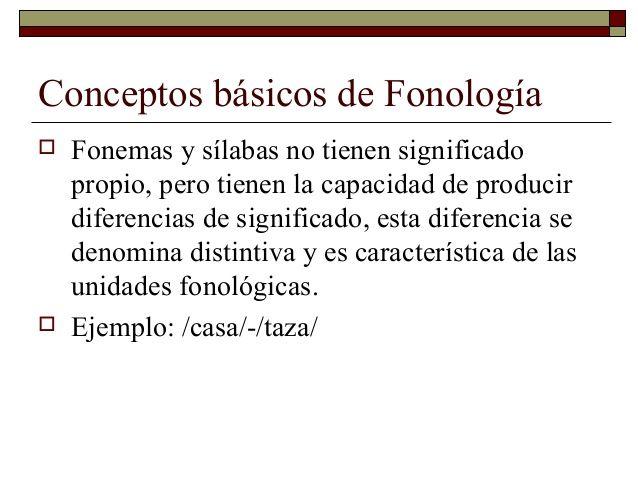 6.conceptos básicos fonología by Colegio El Cobre de Los Andes via slideshare