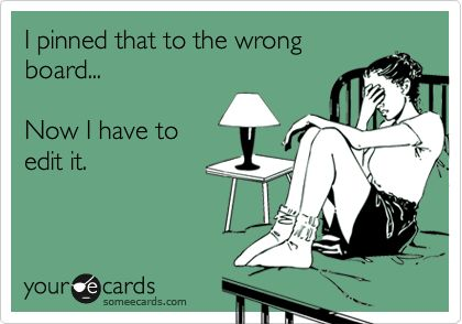 """There should be a funnier/more dramatic """"your e card"""" for this, because it happens to me all the time and I freaking hate it."""