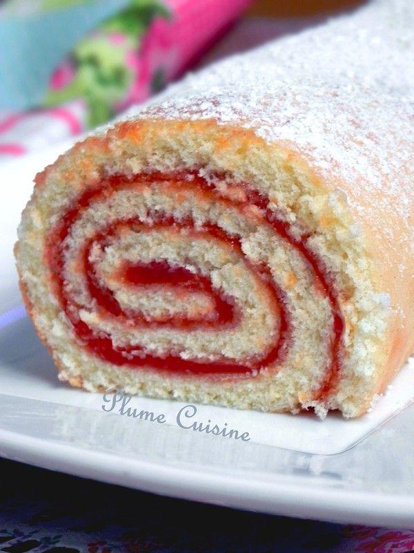 Gâteau roulé à la confiture de goyave, roule, roule mon beau gâteau… J&#39…