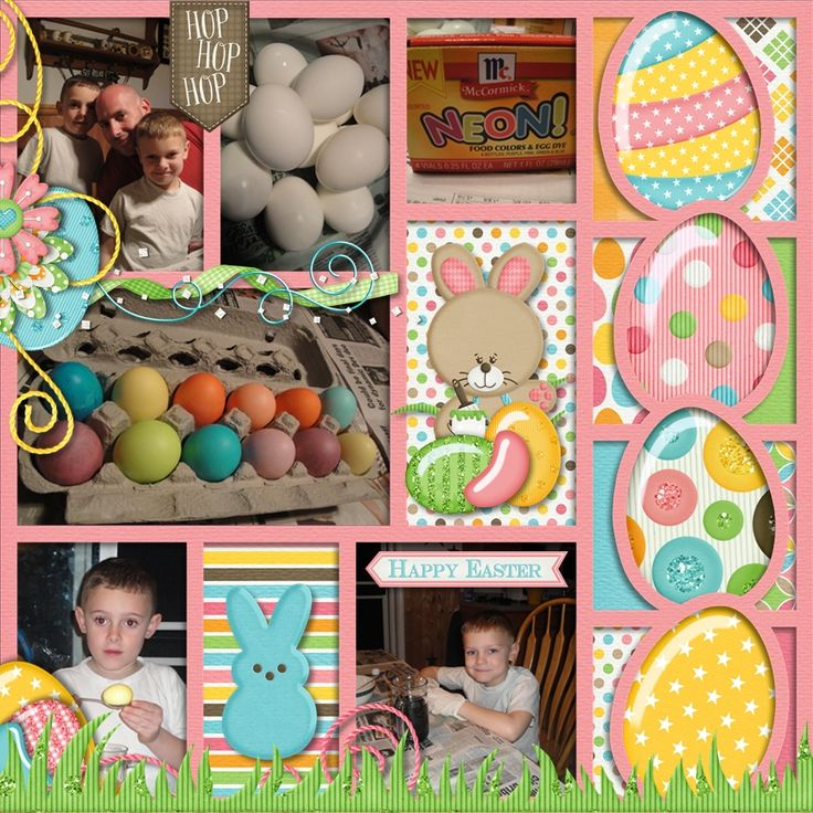{My Easter} by LissyKay Designs - Scrapbook.com