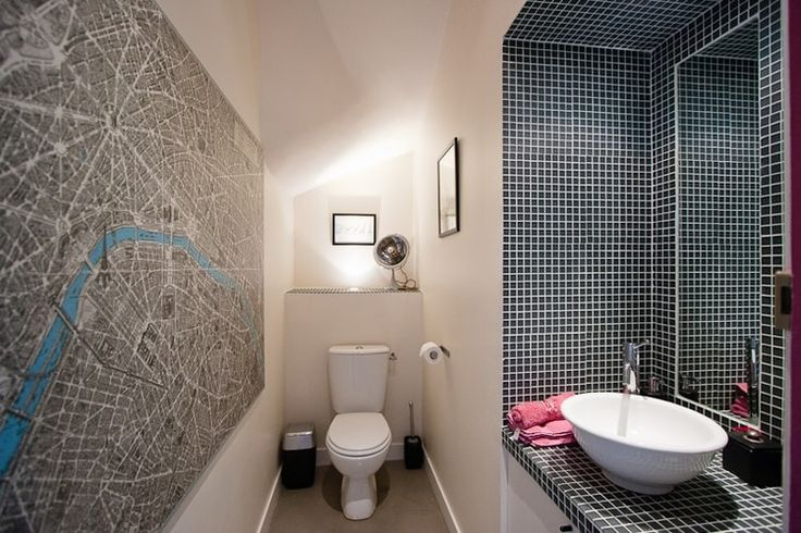 27 best Déco images on Pinterest Apartments, Home ideas and Coat - Comment Decorer Ses Toilettes