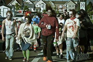 Inscription Gratuite !! Formulaire d'inscription pour votre sac cadeau!! (zombies marcheurs)  Order tickets via Eventbrite: http://www.eventbrite.com/e/2015-marche-des-zombies-rive-sud-zombie-walk-south-shore-tickets-18574606147?aff=efbevent  Une journée familiale avec une marche de zombie dans le but de venir en aide aux gens plus démunis et de sensibiliser les gens à donner au suivant en ce weekend de l'action de grâce.  Une journée remplie d'activités pour la famille organisée par JenM…