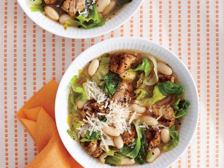 Pork, Bean, and Escarole Soup