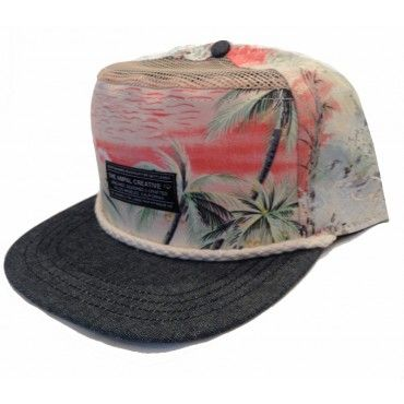 Seven Seas III 6 Panel Snap Back from Ampal Creative $54