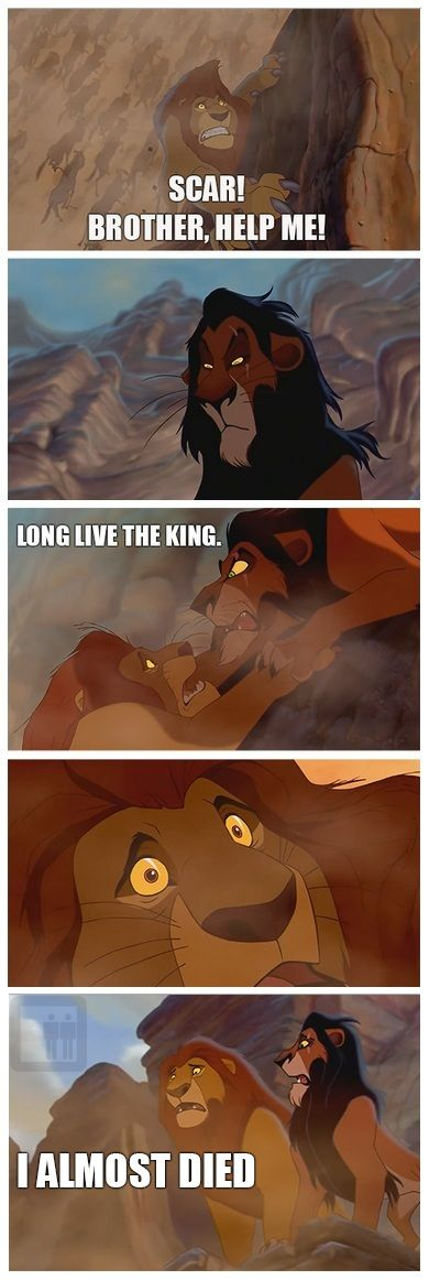 Scar and Muffasa, alternate ending