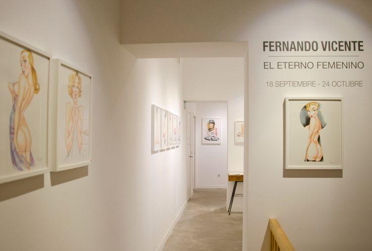 El Eterno Femenino. Una exposición de Fernando Vicente. 18 de septiembre - 24 de octubre.