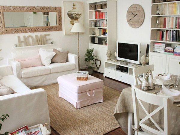 Best Cozy Living Room Design Ideas Shabby Chic