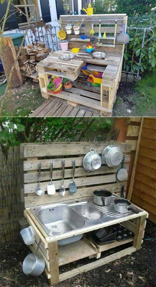 Was ist aus Holzpalette gemacht – Mimuu.com – Diy #WoodWorking