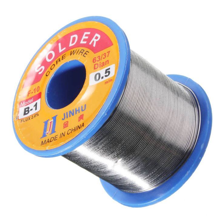 300g 0.5mm Soldeing Wire Welding Wire 63/37 Tin Lead 2.0% Flux Roll  Worldwide delivery. Original best quality product for 70% of it's real price. Buying this product is extra profitable, because we have good production source. 1 day products dispatch from warehouse. Fast & reliable...