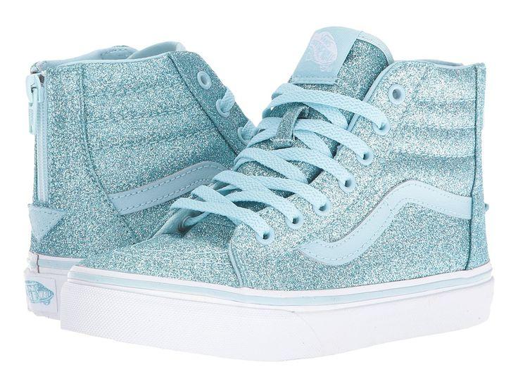 Vans Kids Sk8-Hi Zip (Little Kid/Big Kid) Girls Shoes ...