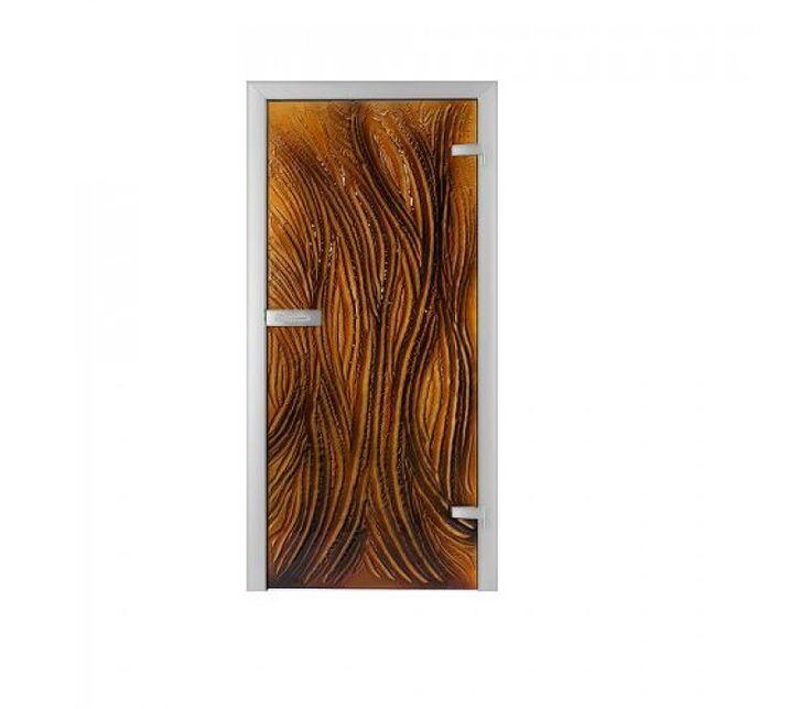 Drzwi szklane fusingowe VILLAGLASS Bronzo - Drzwi - Drzwi, podłogi, wykończenie mieszkań Biokominki,Grille ogrodowe,Drzwi, Podłogi,Meble,Dekoracje