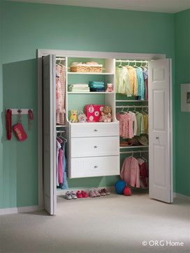 Reach In Closets - modern - Closet - Chicago - Carson Closets & Cabinetry