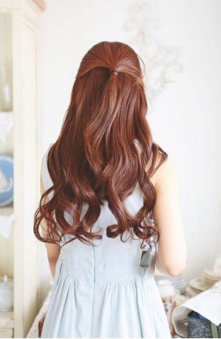 Hairstyles korean long curls 34+ best Ideas - #curls #hairstyles #ideas #korean - #new