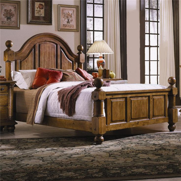 thunder bay queen low poster bed by progressive furniture - Progressive Furniture