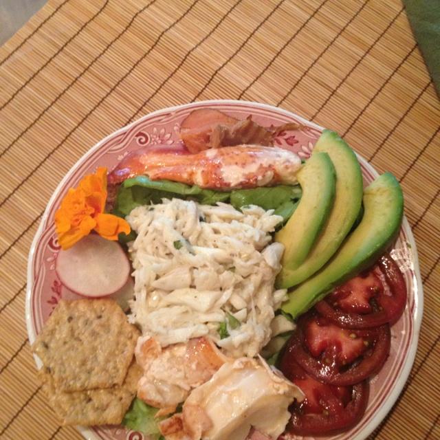 Crab and lobster salad | Lobster & Crab | Pinterest | Lobster salad, Salad and Crab salad