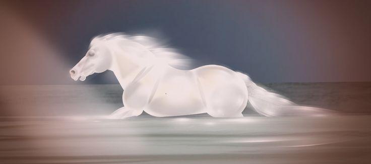 'Horse in water. My last art.' created by Trollet99 in #neybers