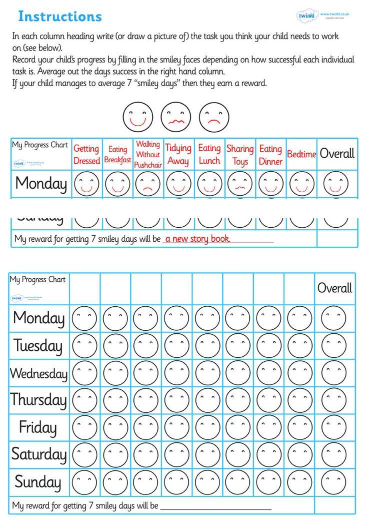 Twinkl Resources >> Routine Progress Chart  >> Classroom printables for Pre-School, Kindergarten, Elementary School and beyond! Rewards, Progress Charts, Class Management