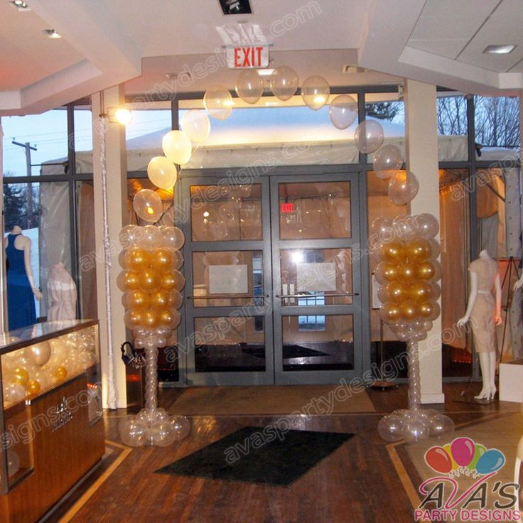 57 best images about balloon great gatsby on pinterest for Balloon string decorations