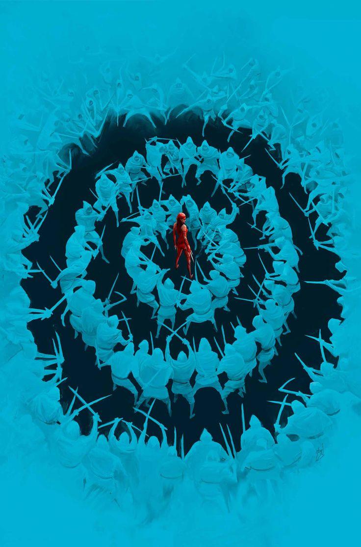 Elektra #9 by Mike Del Mundo *