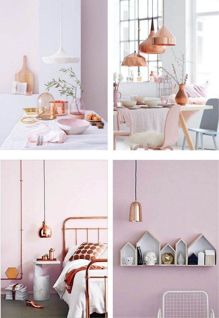 Stunning Chambre Rose Gold Images - Design Trends 2017 - shopmakers.us
