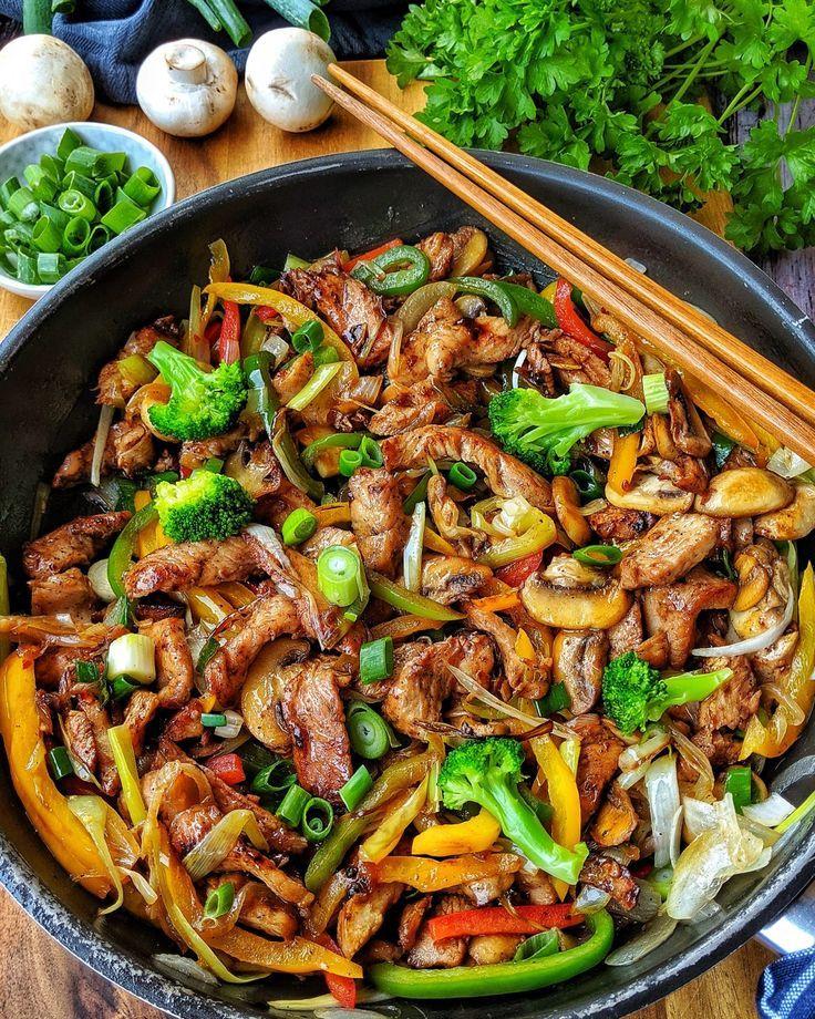 Schnell, lecker, stressfrei und mit viel Gemüse d…