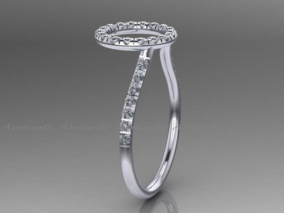 Halo Ring Guard Enhancer Engagement Enhancer Wedding by Armante