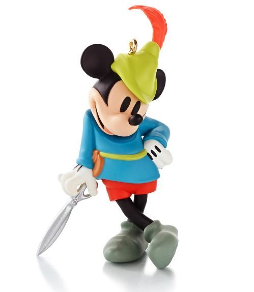 2013 - Hallmark Ornament - Mickey's Movie Mousterpieces - Hallmark Keepsake Christmas Ornaments