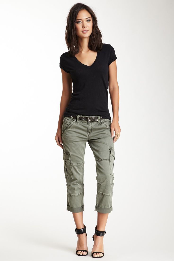 Rock Revival | Faded Cargo Capri Pant | HauteLook