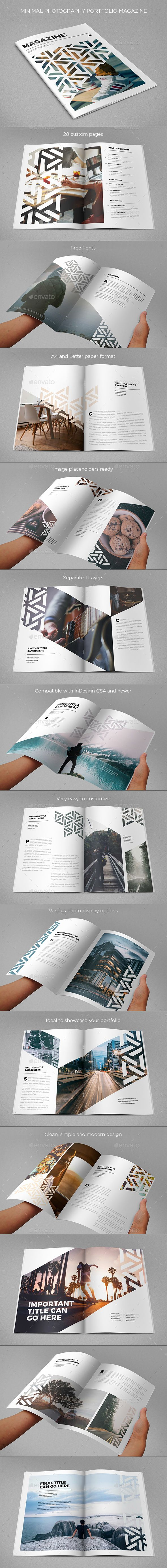 Modern Cool Pattern Magazine  -  InDesign Template • Only available here! →…