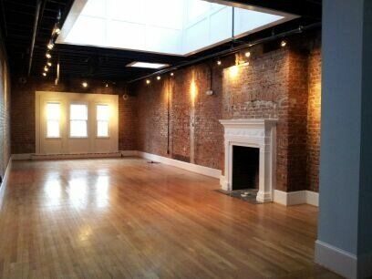 A roundup of offbeat & nontraditional wedding venues in DC ~ Epic Yoga (a yoga studio!)