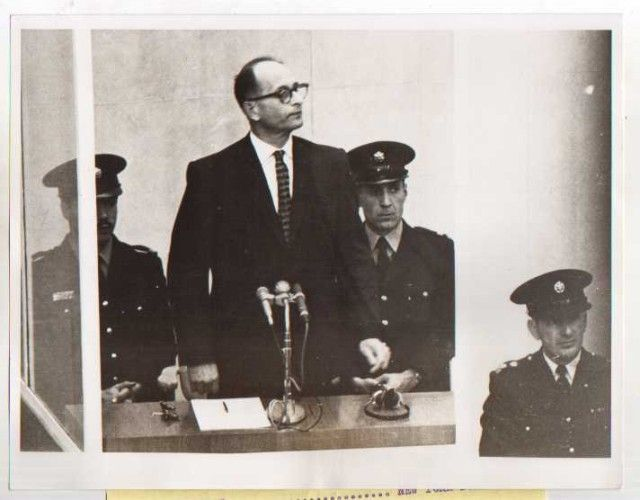 """268. I remember that during his trial Eichmann was enclosed in a glass cage."""
