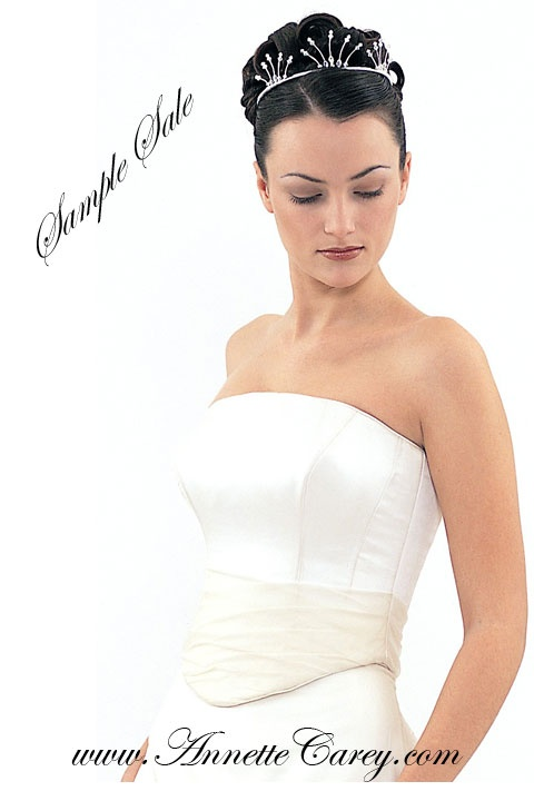 To make for you from £2,650.  Sample sale dresses available in size 10 - 12 for £350 each.