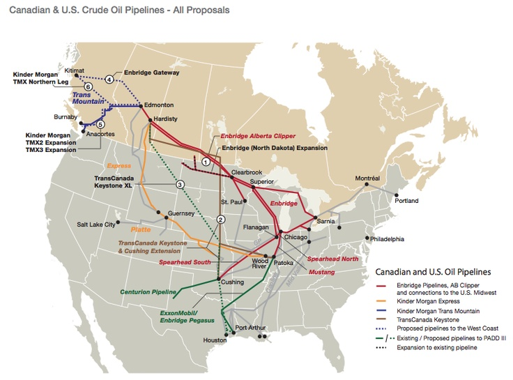 Best Maps Of All Sorts Images On Pinterest Maps Basins And - A map with all pipelines in the us