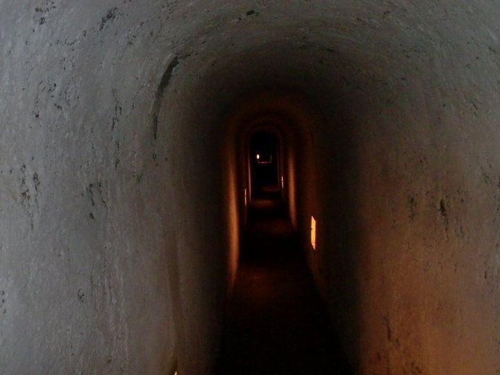 one long scarry corridor