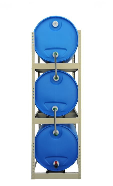 ~*~WOULD LIKE TO SET ONE UP FOR A TINY HOME ON WHEELS WITH WATER FILTRATION SYSTEM IN IT, ANY SUGGESTIONS~*~ WATER BARREL TOWERS | Triple Water Barrel Towers