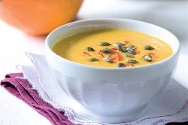 Dýňová polévka s chilli | Apetitonline.cz