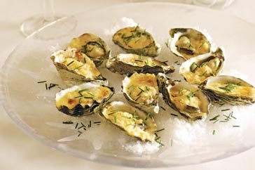 "Casanova once said oysters are ""a spur to the spirits and to love"" - which is why you'll swoon when you taste this decadent starter."