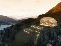 InterContinental Davos. New hotel located near one of Switzerland's most popular ski resorts.