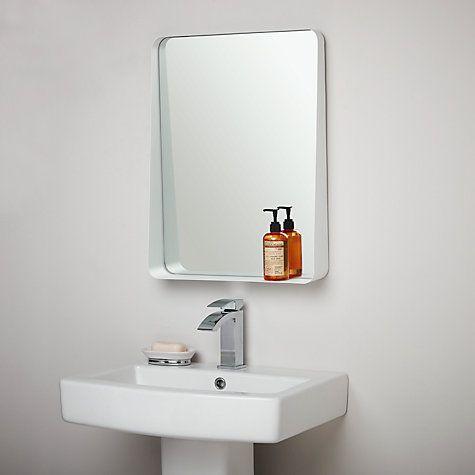 Best 25 bathroom mirror with shelf ideas on pinterest - Best place to buy bathroom mirrors ...