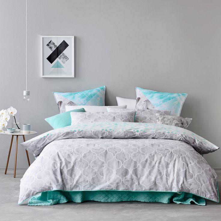 Mercer + Reid Livorno Bedlinen - Bedroom Quilt Covers & Coverlets - Adairs online
