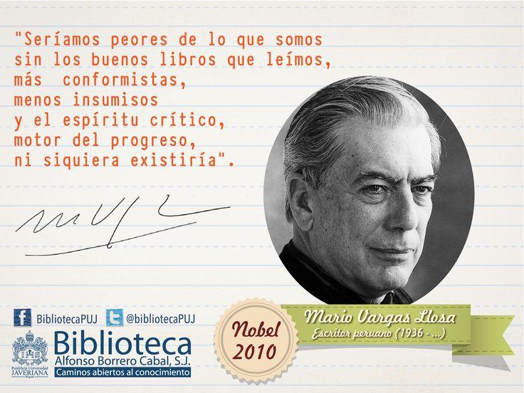 Mario Vargas Llosa...