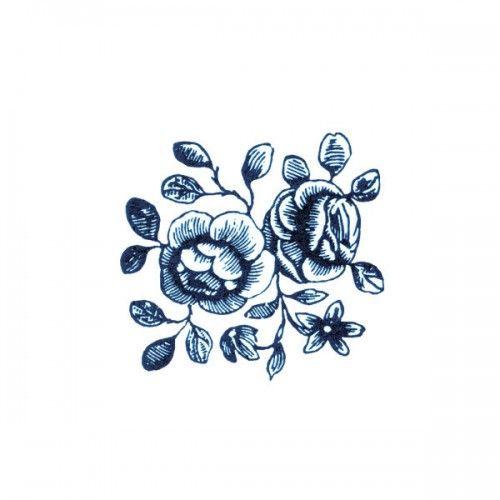 Tattly Tattoos - Cartolina Blooms