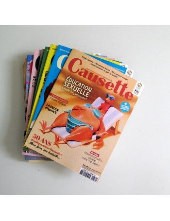 Causette Le Mag 12 Issue Subscription - Monde  56€