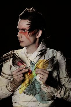Jonsi: Probably the most amazing ethereal voice ever, his love for life and nature is perfectly transmitted through his music.