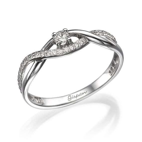 Hey, I found this really awesome Etsy listing at https://www.etsy.com/listing/229027998/infinity-engagement-ring-white-gold-ring